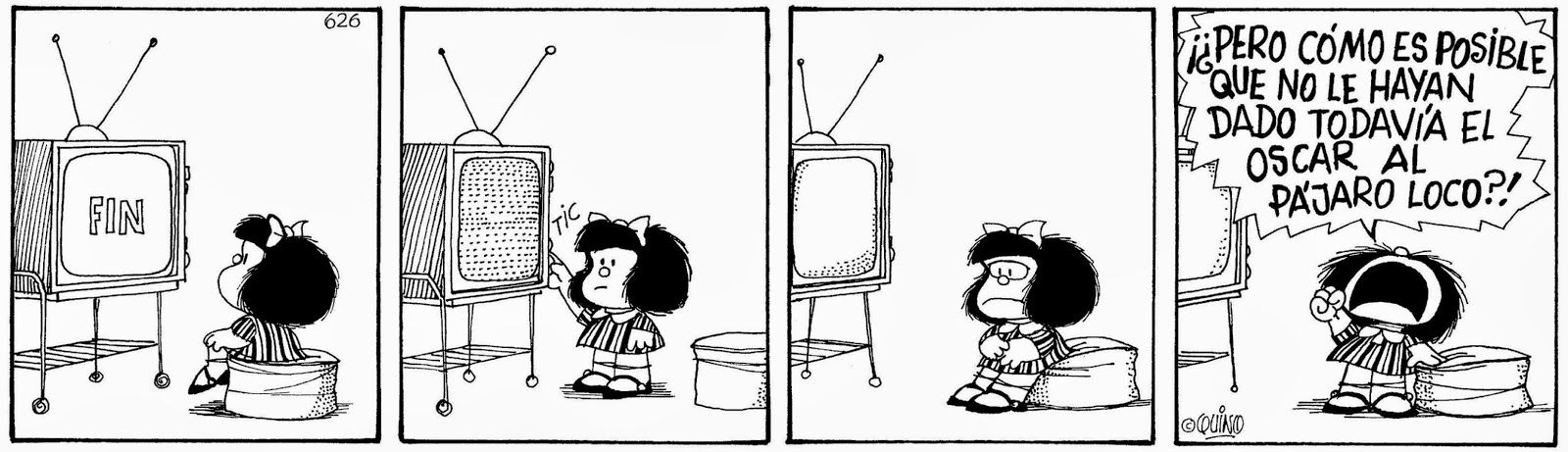 Resultado de imagen para mafalda pajaro loco