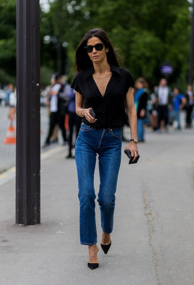 60 Flawless Street Style Looks From Haute Couture Fashion Week Fashion Denim Trends Fashion Gone Rouge