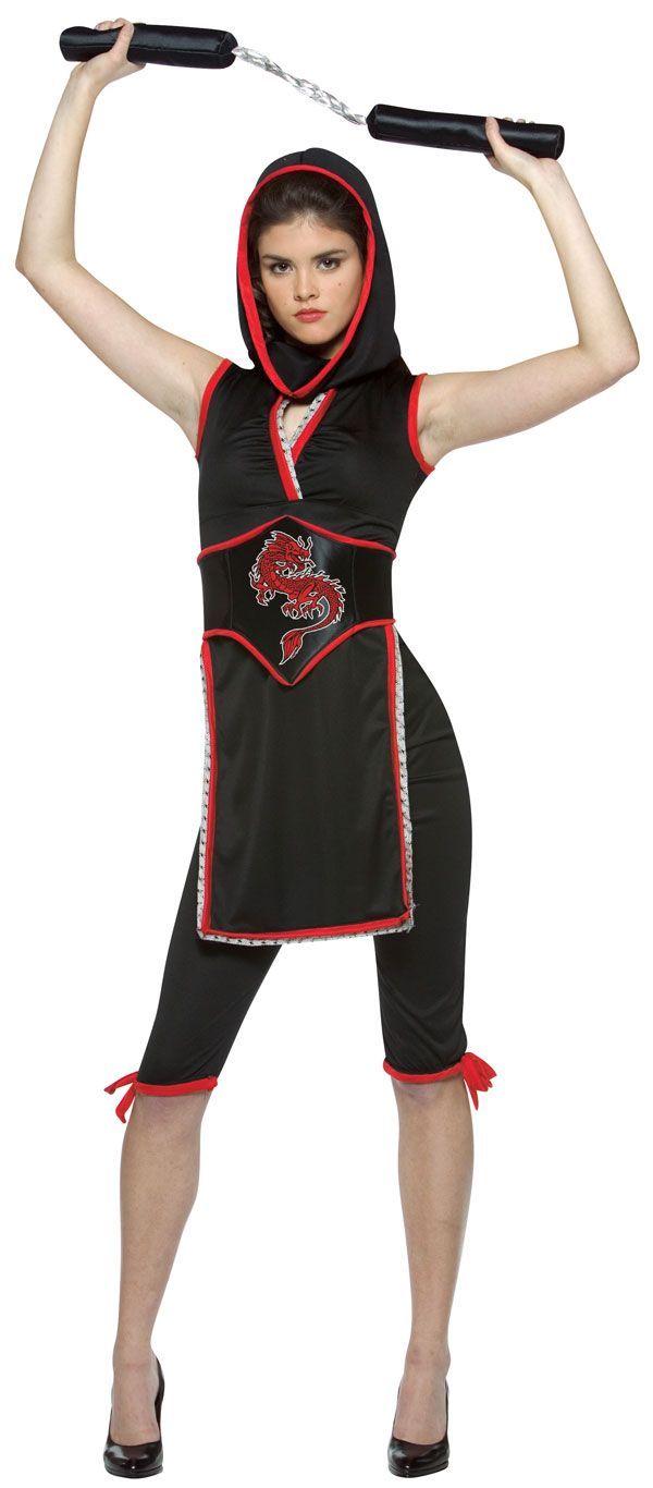 Halloween Costumes For Teenage Girls | Teen Girl Ninja Costume - Teen Halloween Costumes | Ninja ...