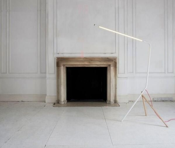 floor lamp as performance art