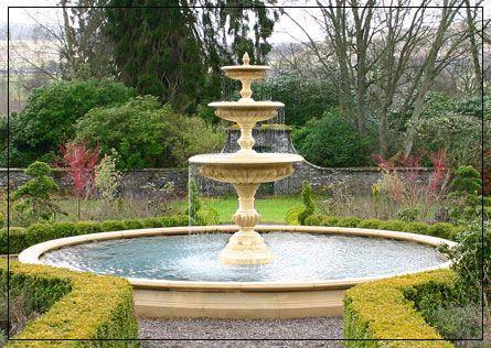 Three Tier Garden Fountain Centrepiece Water Fountains Outdoor Water Features In The Garden Outdoor Water Features