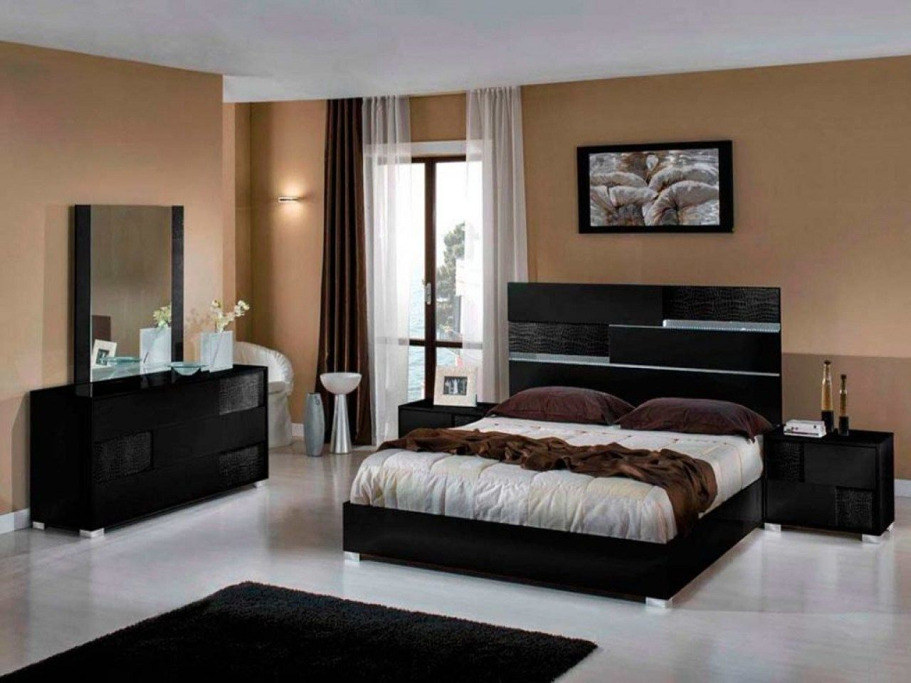 15 Awesome Initiatives Of How To Build Black Modern Bedroom Sets Contemporary Bedroom Furniture Sets Luxury Bedroom Inspiration Modern Bedroom Furniture Sets