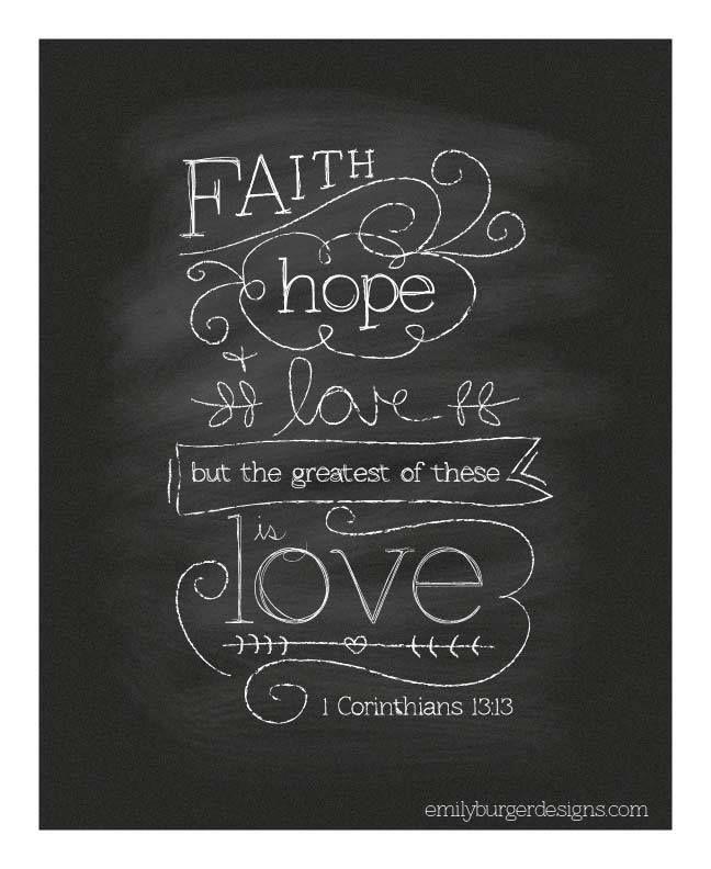 I Corinthians 13:13