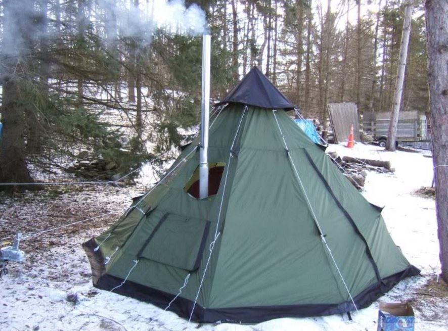 M 1950 Tent & Scotts Tent In Colorado jpg