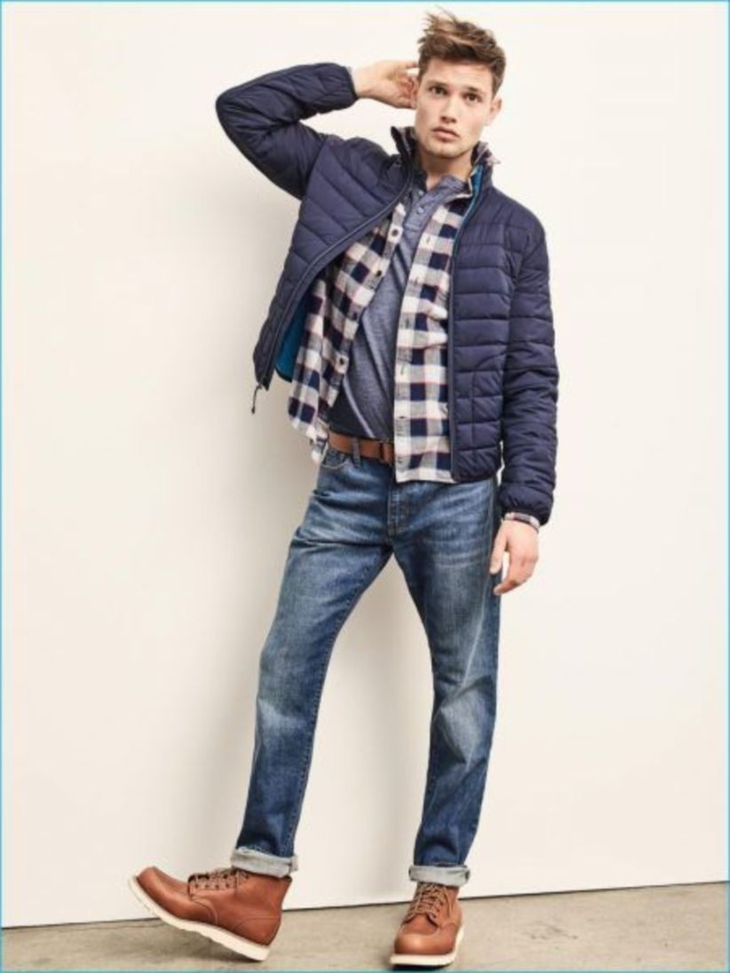 Menus Fall Fashion With Flannel Shirt In Your Style   Style
