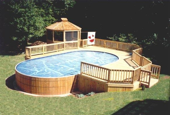 95 Stunning Pool Designs And Ideas To Inspire Your Next Project Above Ground Swimming Pools Pool Patio In Ground Pools