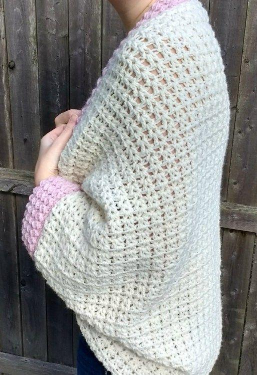 Crochet Cozy Cocoon Cardigan   Cosas para comprar   Pinterest ...