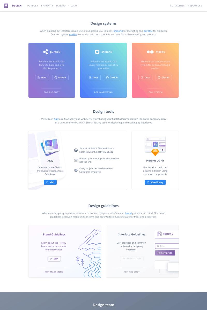great designguidelines example published today webdesign uxui productdesign inspiration also rh pinterest