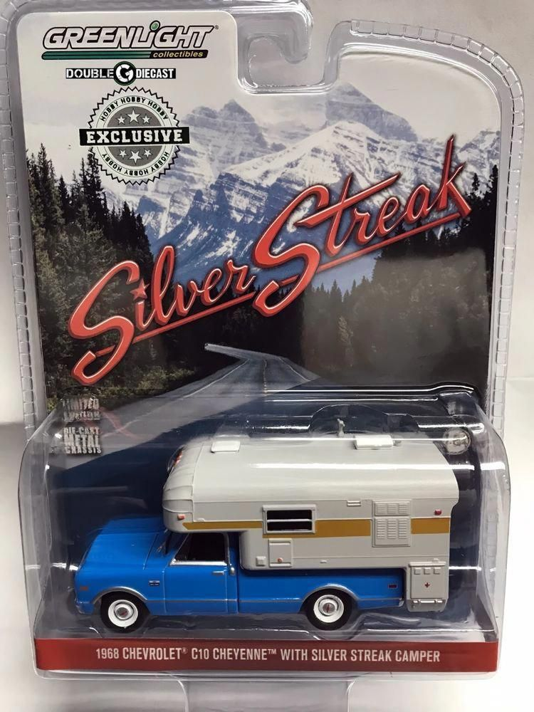 GREENLIGHT 1968 Chevrolet C10 Cheyenne Truck with Silver