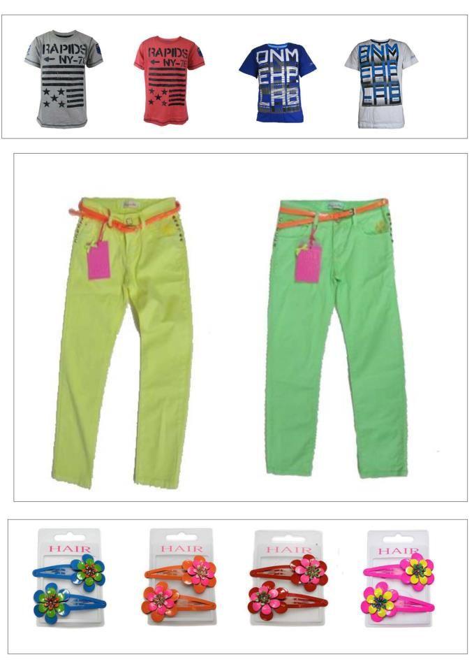 Trendy neon skinny's in 2 kleuren leverbaar   in diverse maten   Nieuwe collectie  €23,95 | www.ctkidswear.nl