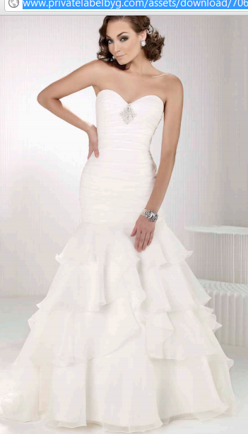 Style 1415, Private Label By G. Love the shape of this dress ...
