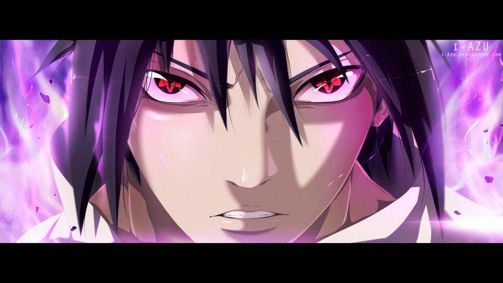 Mangekyou Sharingan Sasuke Uchiha Eyes Hd Wallpaper I Azu Anime