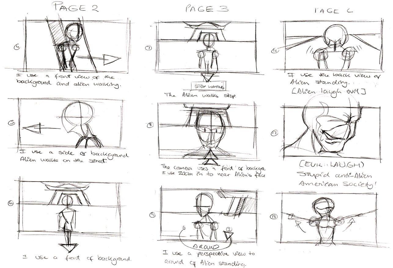 Storyboard TomJerry  Storyboard  Layout