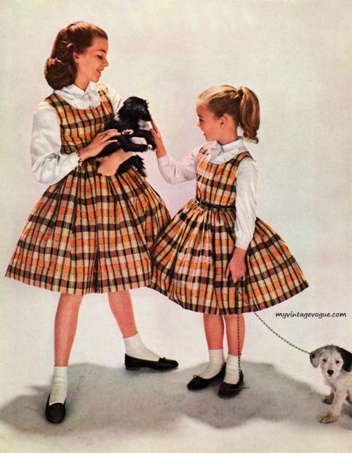 1950s Fashion For Kids Girls