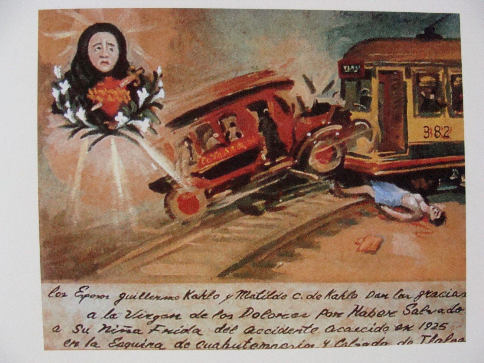 Résultats de recherche d'images pour « frida kahlo oeuvres accident » en 2019 | Frida kahlo ...