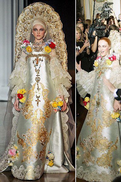 Los 10 vestidos de novia más excéntricos de la alta costura Image: 9 ...