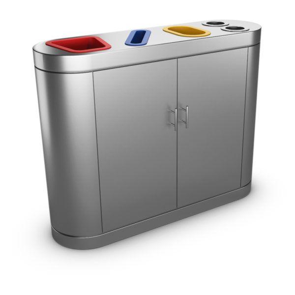 Poubelle Tri Selectif Ikea : copenhagen poubelle tri s lectif en acier inoxydable 4 ~ Pogadajmy.info Styles, Décorations et Voitures