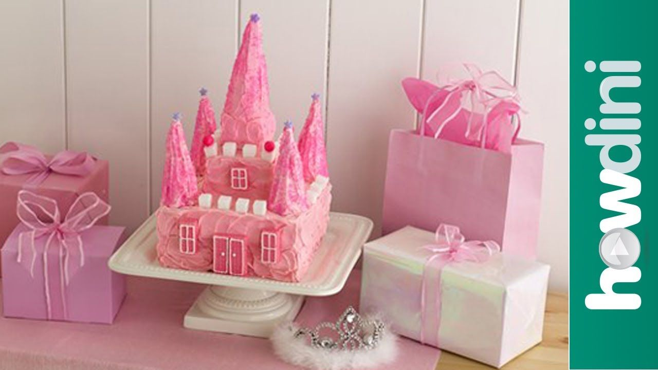 Birthday Cake Ideas The Princess Castle Cake Birthday Cake How to