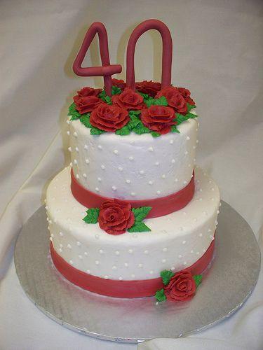 40th Wedding Anniversary Cake Decorations Mini Bridal