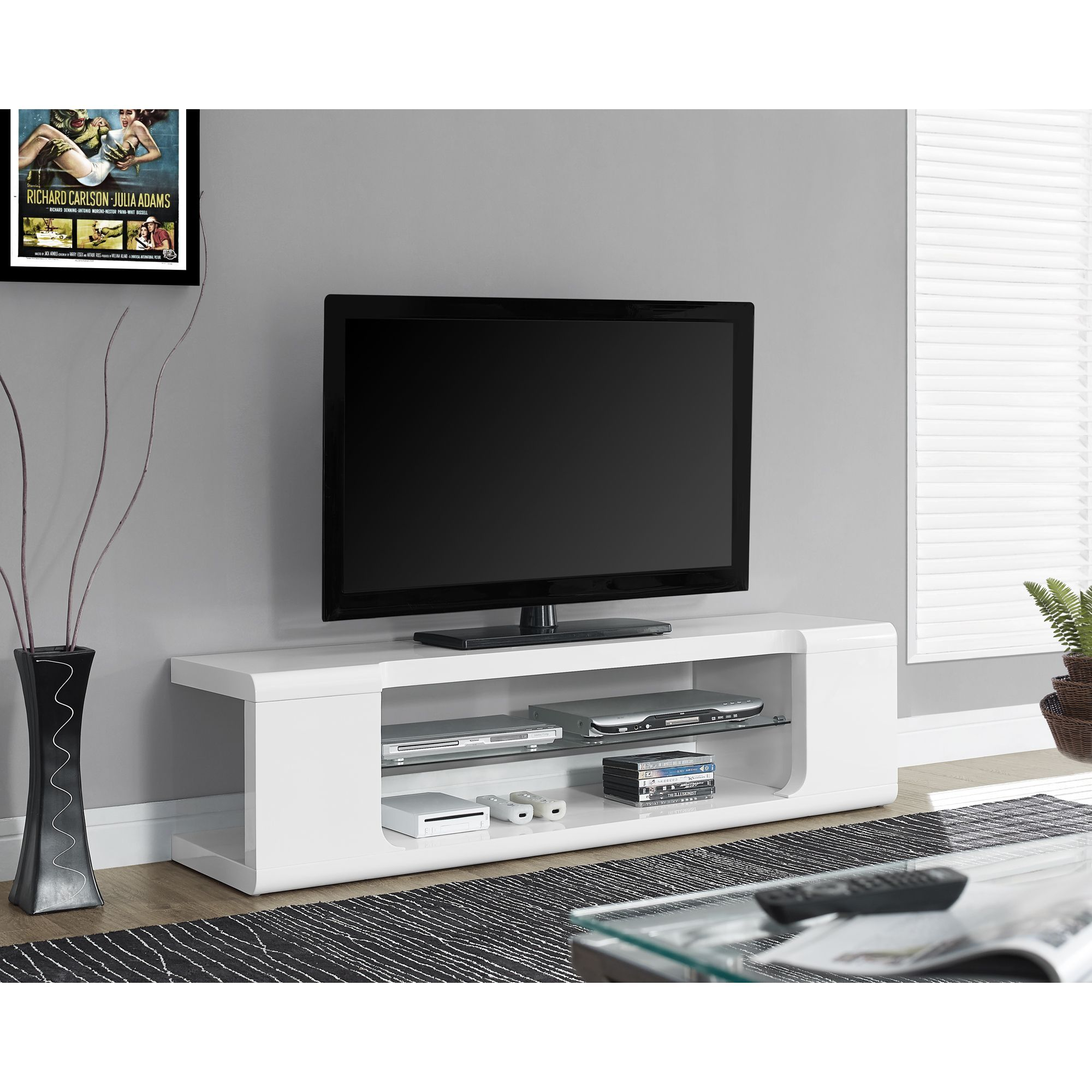 Keep Your Living Space Clutter Free With This Unusual Yet  # Hamilton Atylia Meuble Tv