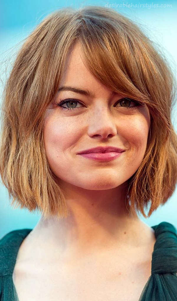 45 Hairstyles for Round Faces to Make it Look Slimmer - 31 ...