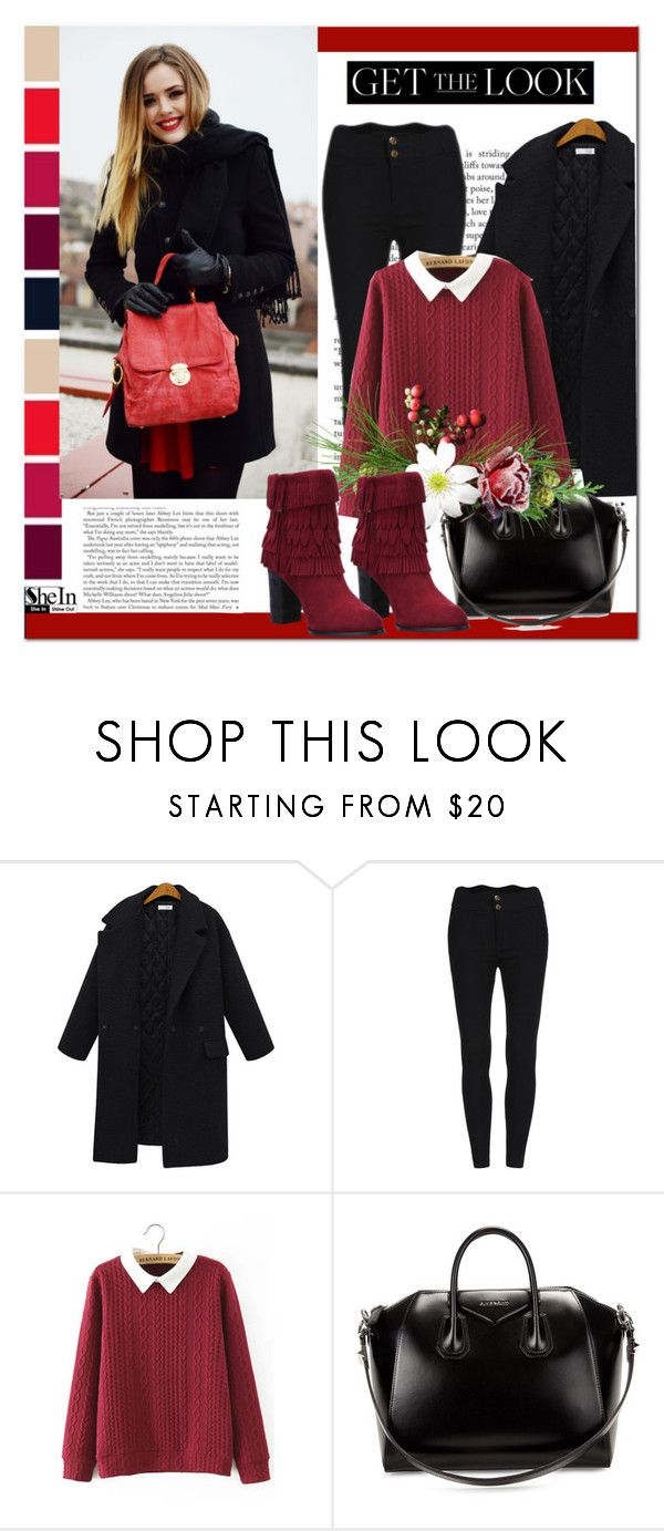 """""""SheIn #2 (IV)"""" by cherry-bh ❤ liked on Polyvore featuring Givenchy, women's clothing, women's fashion, women, female, woman, misses, juniors and shein"""