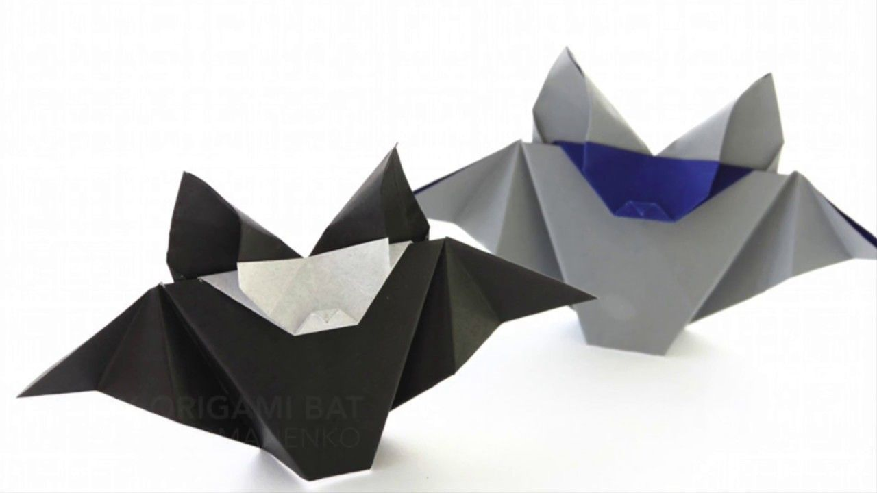 Halloween origami bat by natalia romanenko halloween origami halloween origami bat by natalia romanenko halloween origami this is the cute and super easy origami bat by natalia romanenko its a good looking model if jeuxipadfo Gallery
