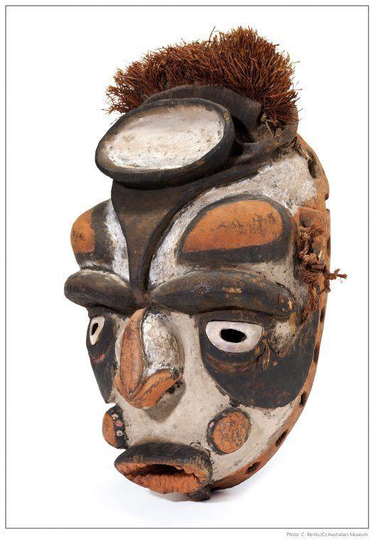 Tumbai mask from Papua New Guinea