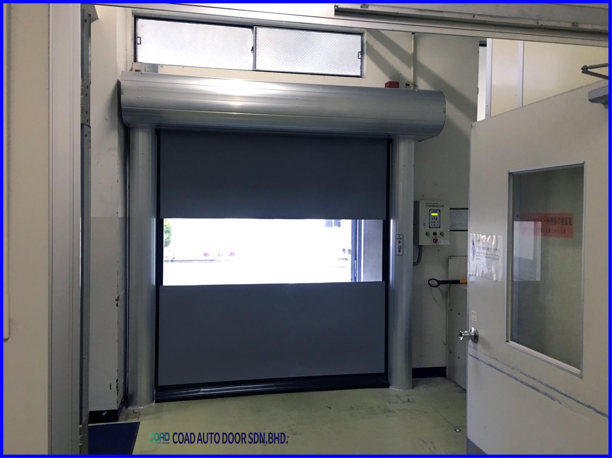 Long Term Durability High Speed Door Coad Malaysia Doors Automatic Door Malaysia