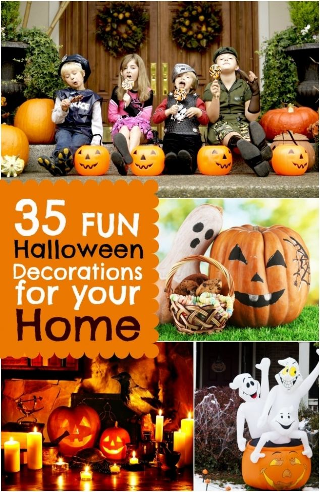 35 Fun Halloween Decorations for Your Home www - cute easy halloween decorations