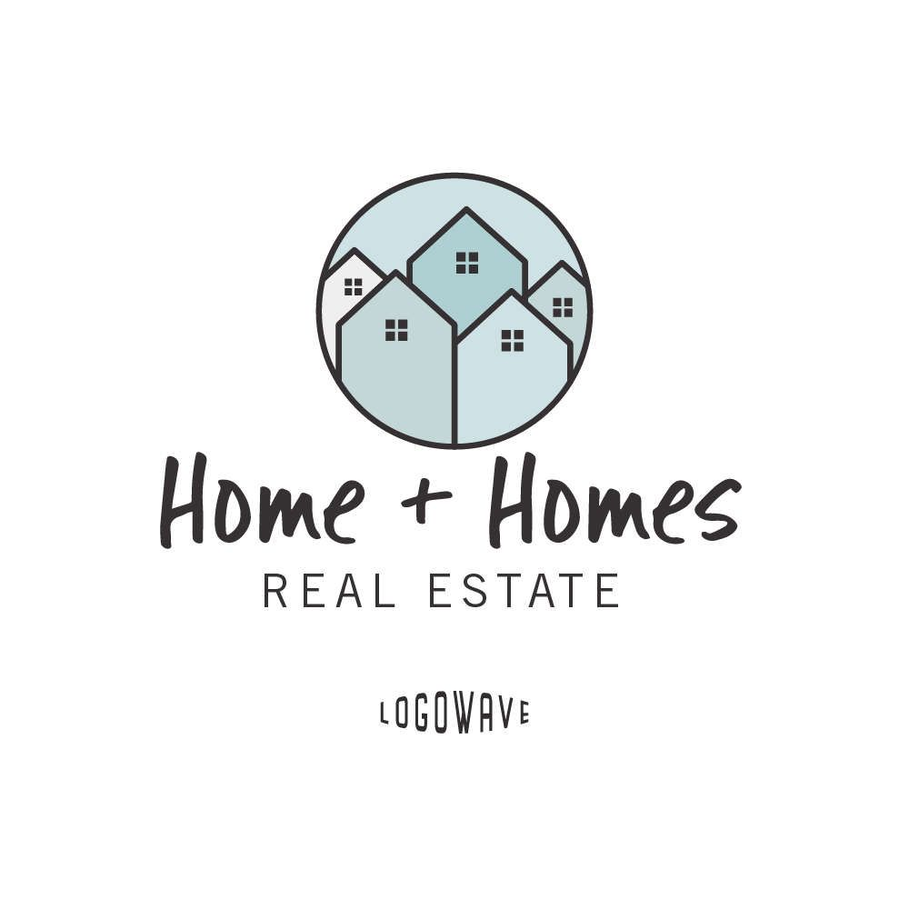 Real Estate Companies That Rent: Real Estate Logo Design. Home Logo. Property Logo. House