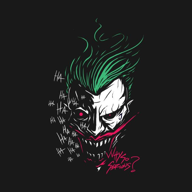 Check Out This Awesome Joker Design On At Teepublic Idee Per