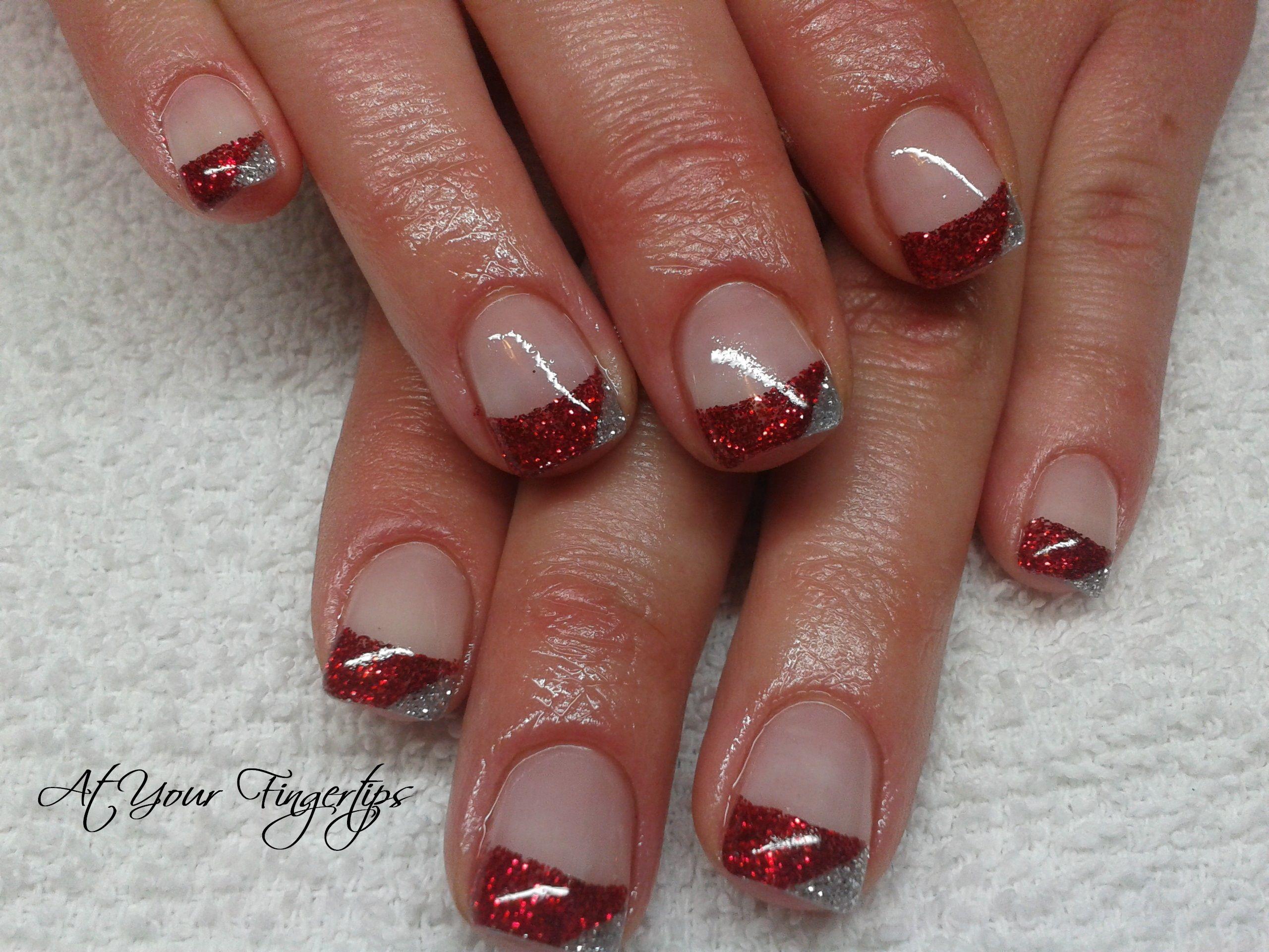 Christmas gel nails Christmas gel nails, Christmas nails
