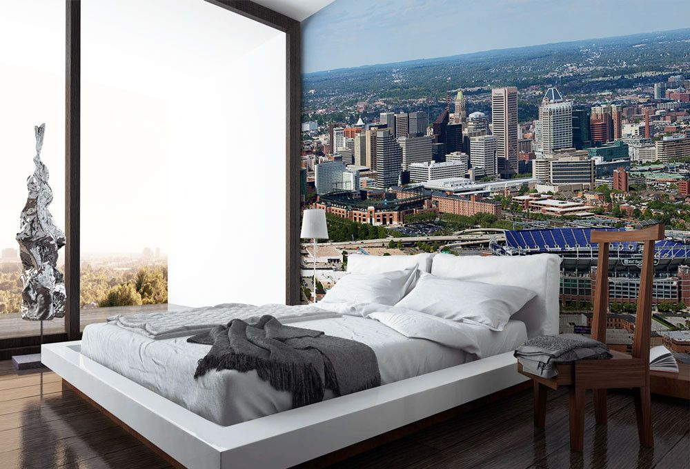 baltimore maryland skyline pinterest maryland wall murals and