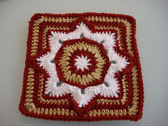 Eight Pointed Flower (2 Patterns Downloaded - 9 and 12 inch Pattern and Pattern Tutorial - SLT)