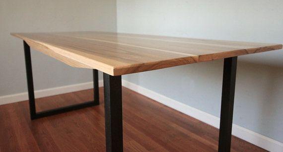 minimalist modern industrial office desk dining. Minimalist Modern Industrial Office Desk Or Dining By MonkandHoney L