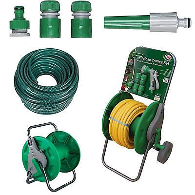 15m 30m 50m no kink reinforced #tough #garden hose reel pipe water #hosepipe gree,  View more on the LINK: 	http://www.zeppy.io/product/gb/2/322100334418/