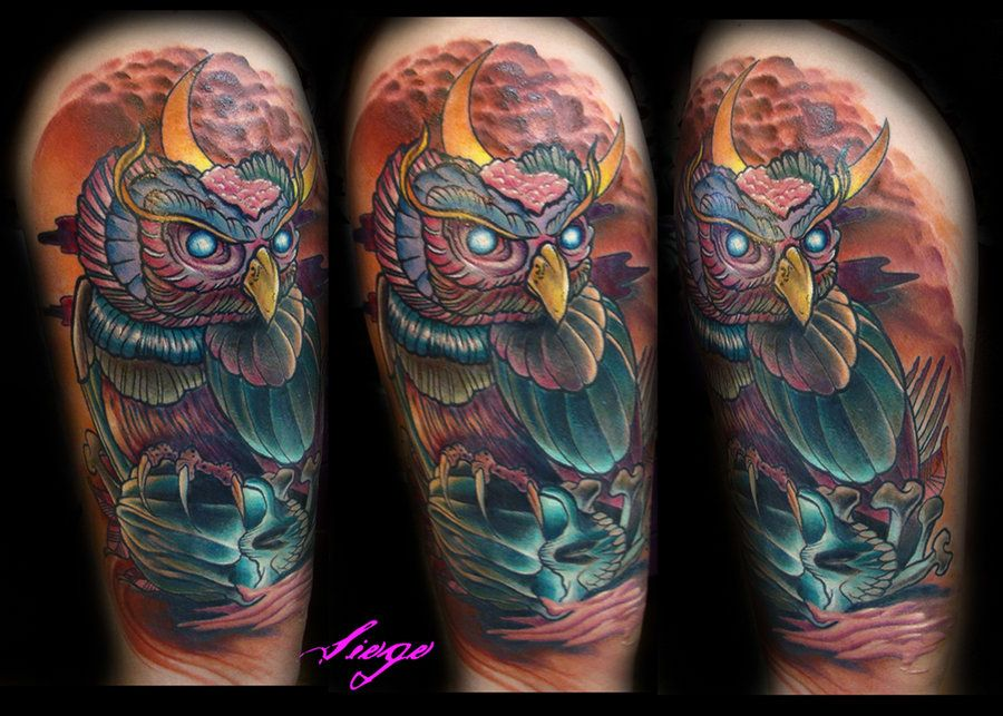 Zombie Owl  Grand View By IamValodeviantartcom Birds