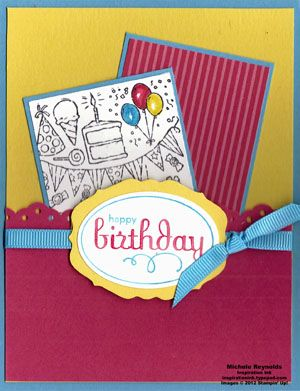 Bright Balloons by Michelerey - Cards and Paper Crafts at Splitcoaststampers