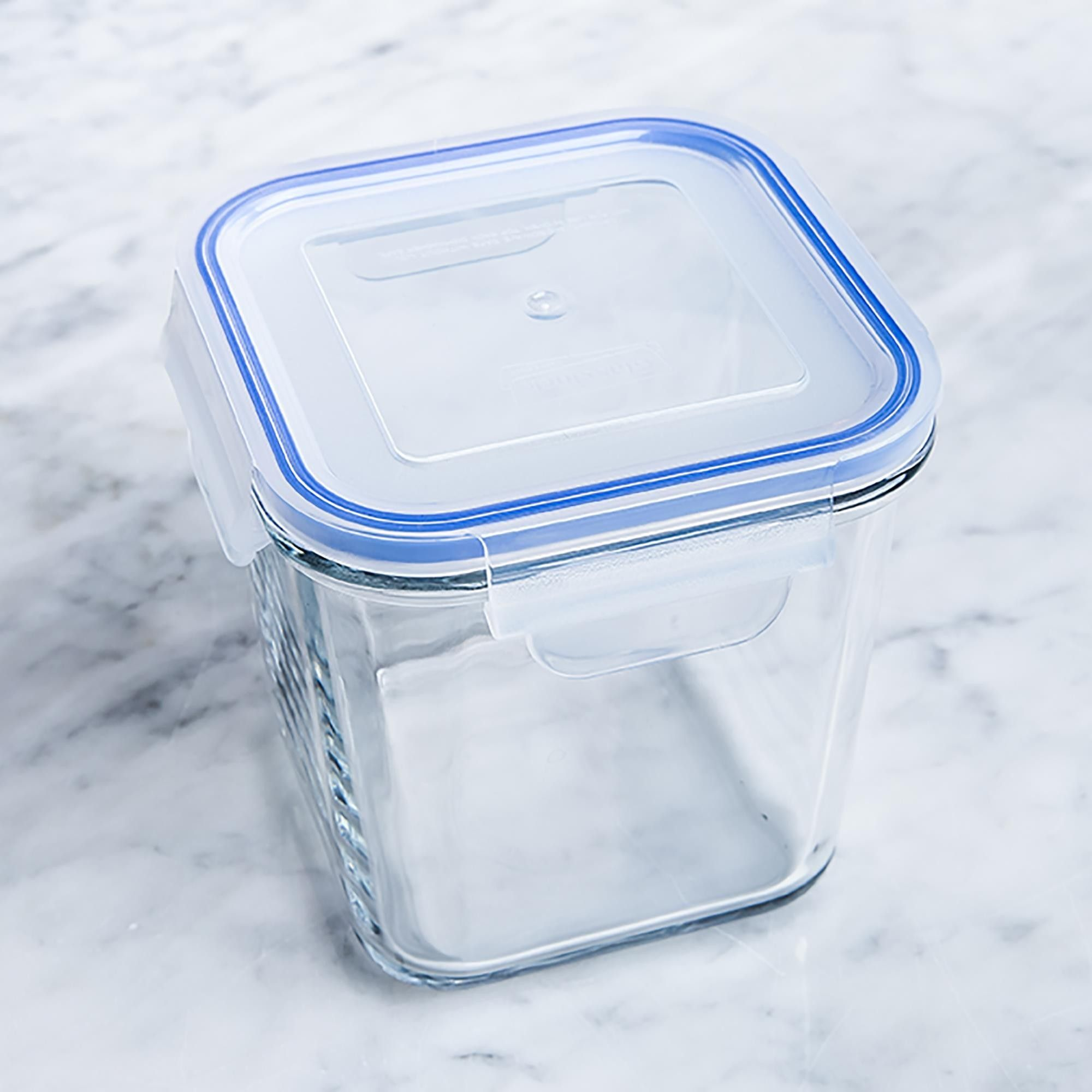 GlassLock 9ml Tall Square Food Container  Food storage