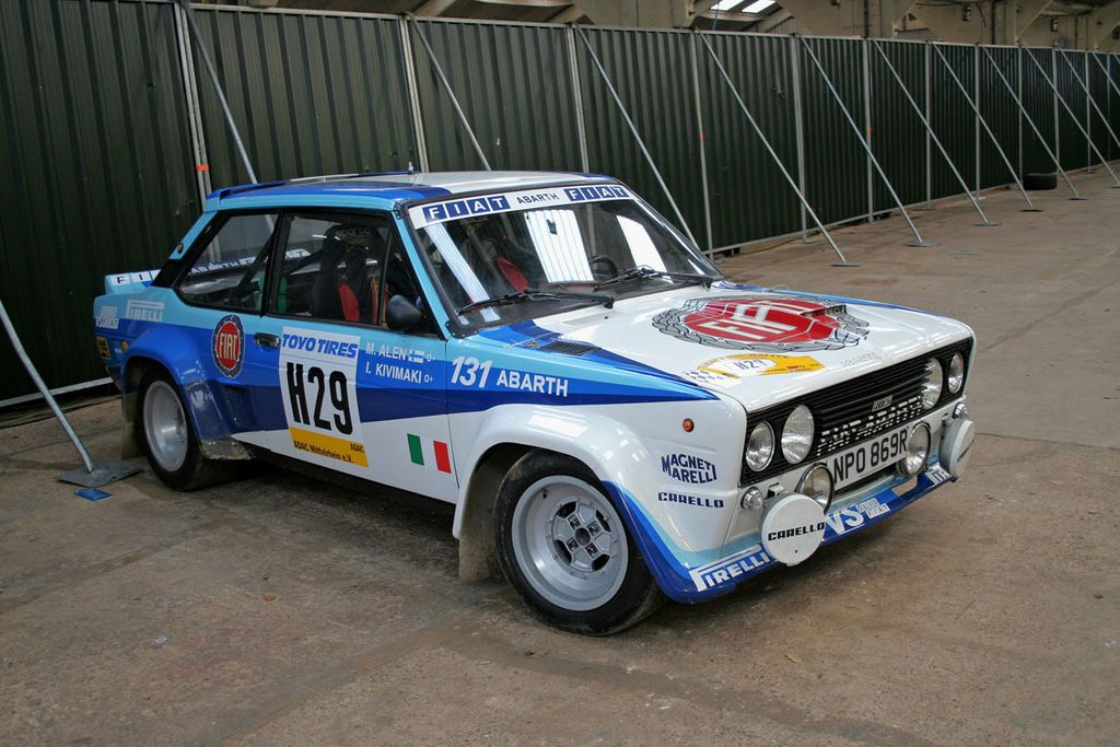 Fiat 131 Abarth With Images Fiat Fiat Abarth Fiat Sport