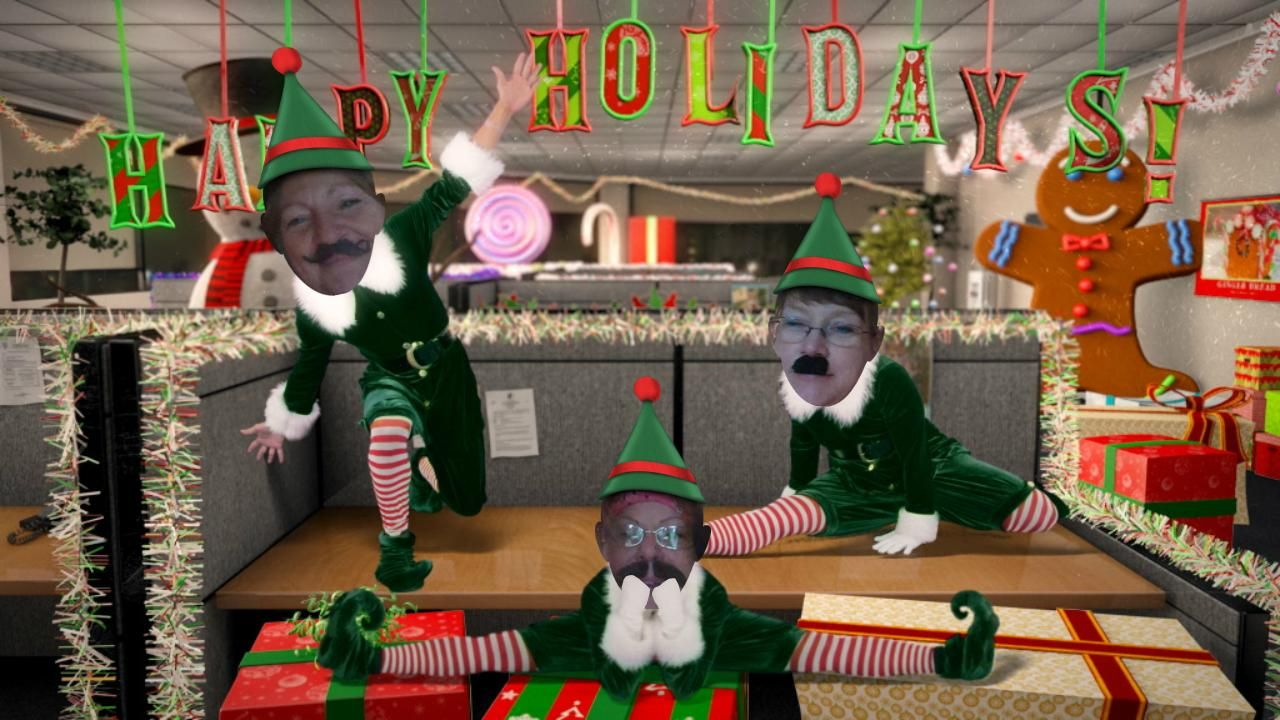 Office Max's Elf Yourself Videos/Project that caught on fire