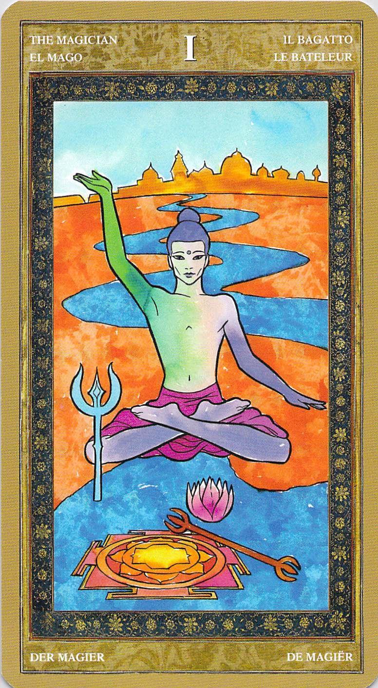 The Magician--Yoga Tarot