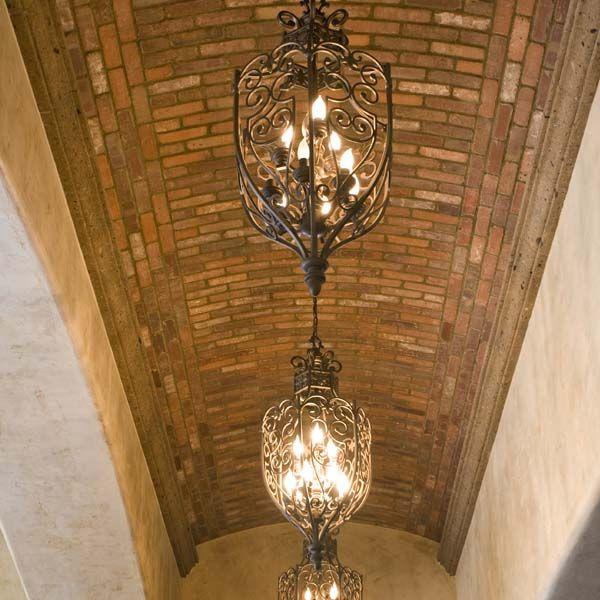 Barrel vault brick ceiling architectural details for Barrel vault ceiling