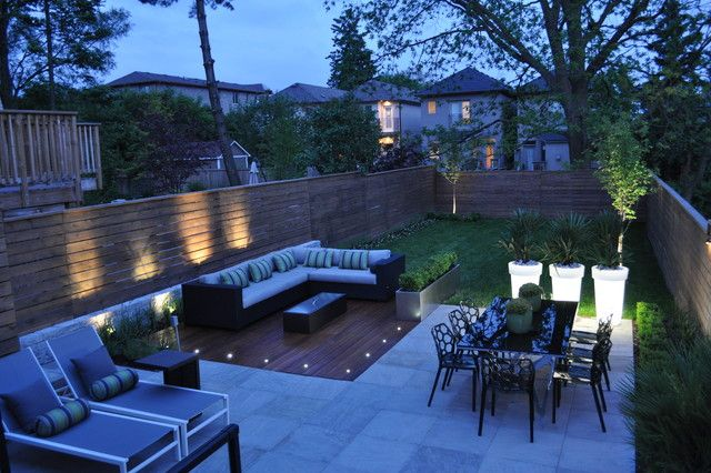 Modern Small Backyard Design Adorable Modern Backyard Design .