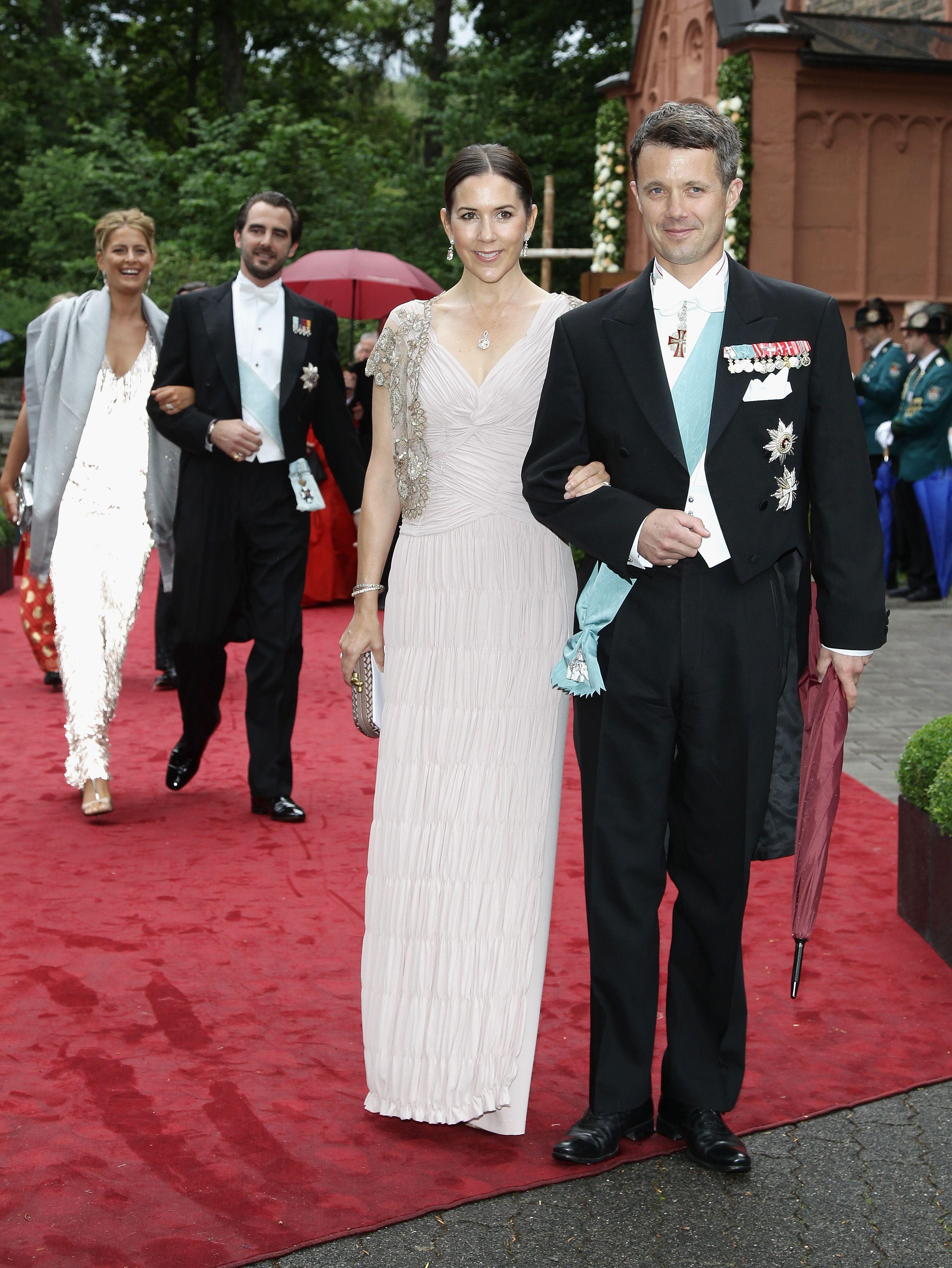 crown princess mary of denmark wedding - Google Search