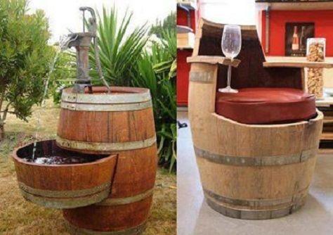 r cup tonneau recup pinterest tonneaux r cup et id es de meubles. Black Bedroom Furniture Sets. Home Design Ideas