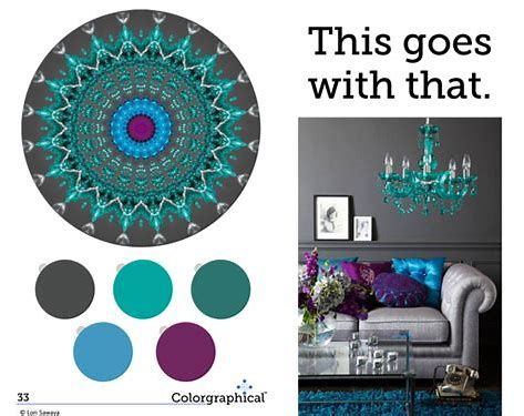Image Result For What Color Goes With Lavender And Teal