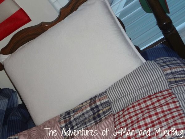 Bedtime is not dreaded now that my son is sleeping on a Nature's Sleep ViscoLite Memory Foam Pillow! #NSAmbassador #spon