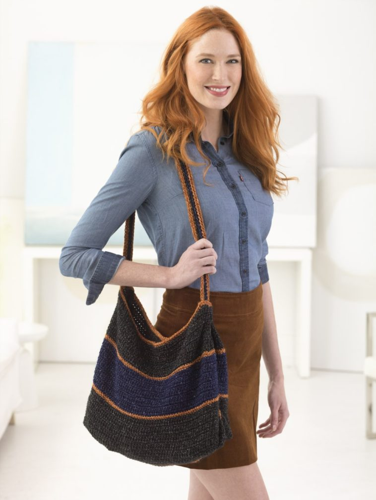 Dallas Tote Crochet Pattern - KnitCraft #crochet #crochetbag #knit #knitting